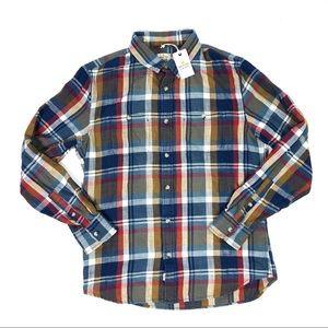 Marine Layer Flannel Button Down Shirt